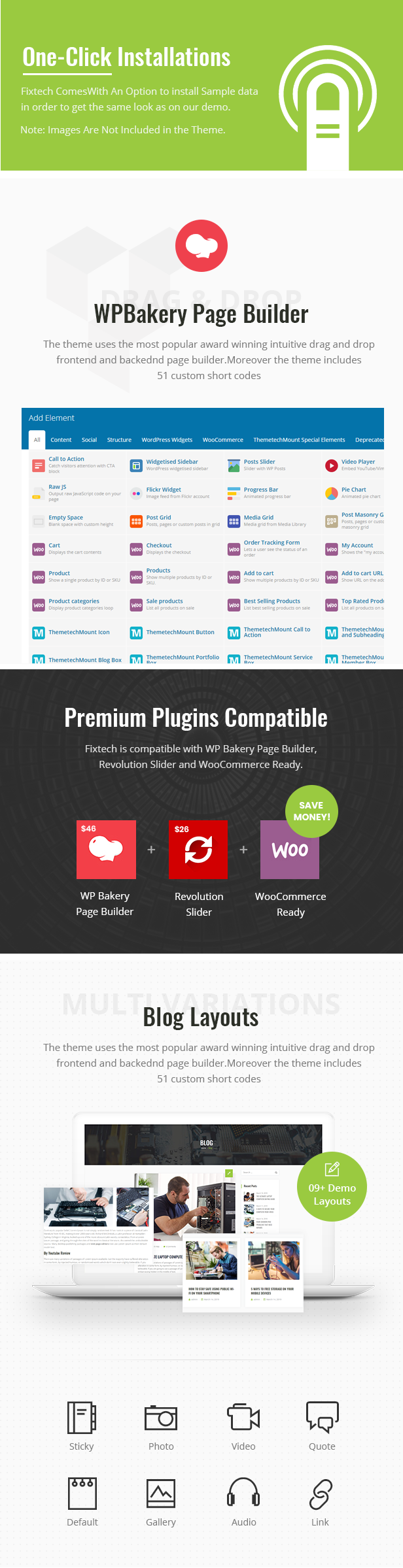 Fixtech WordPress Theme